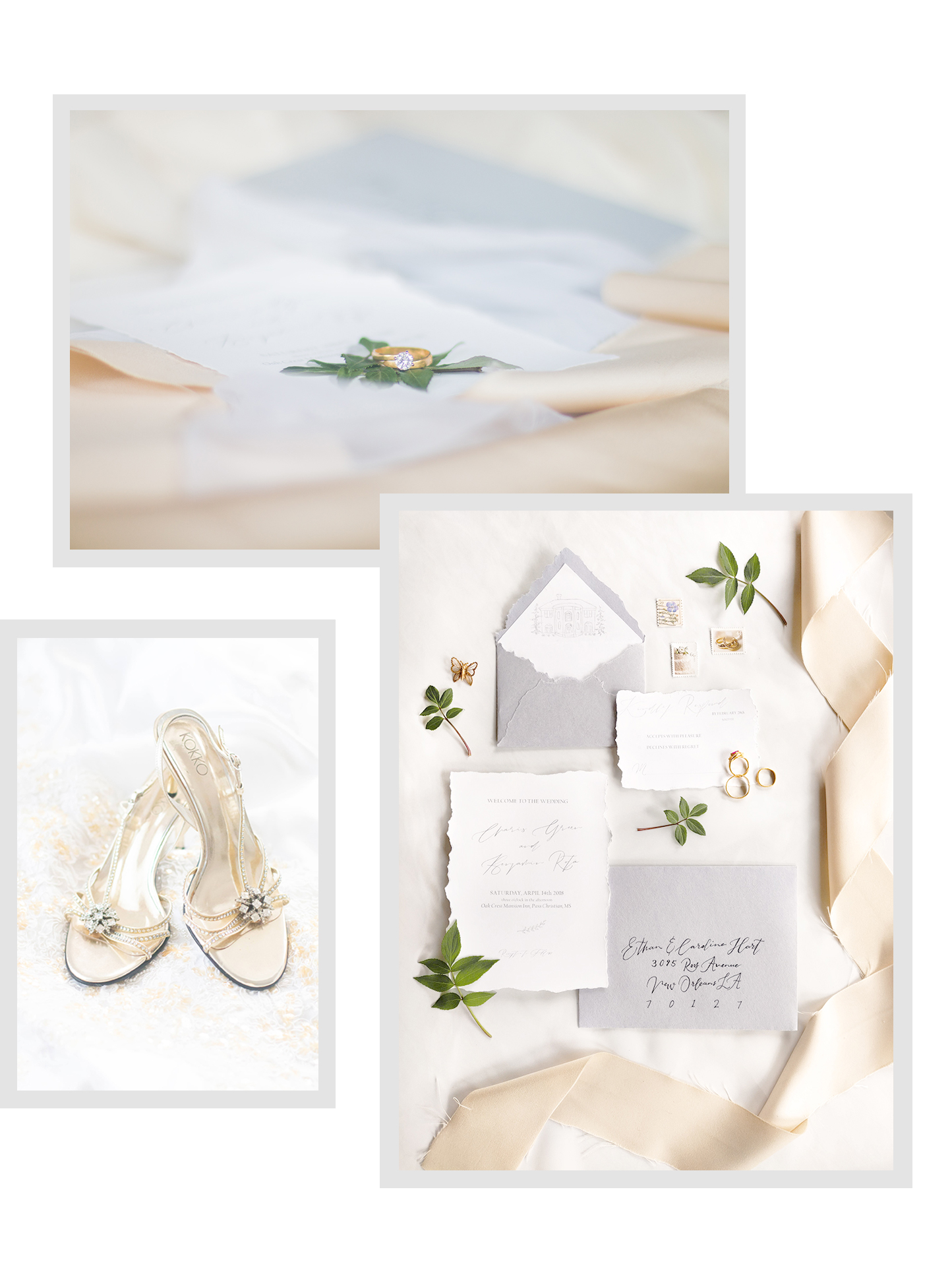 Invitation Suite | Luxury wedding photographer Investment