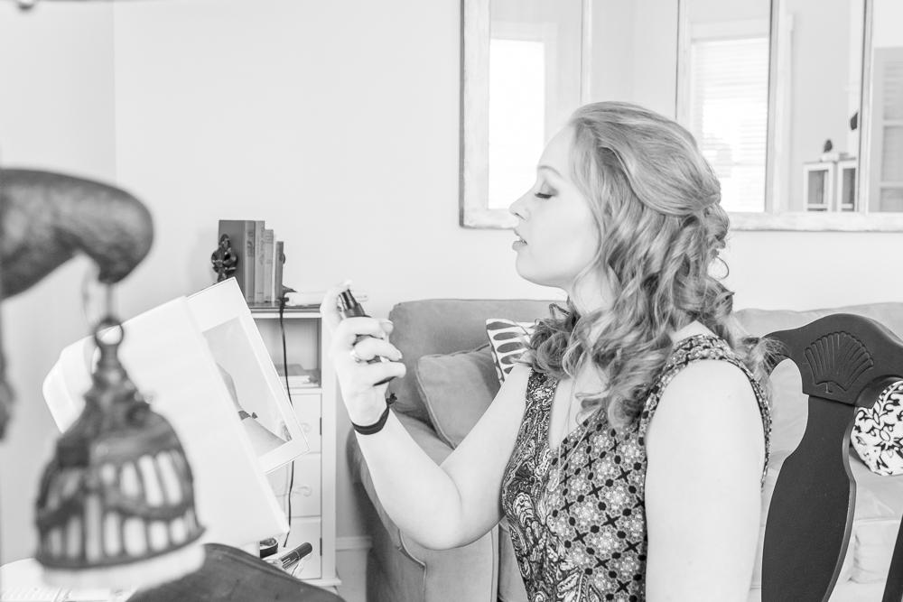 Gulfport Beach Wedding | Getting Ready Makeup | Annie Elise Photography