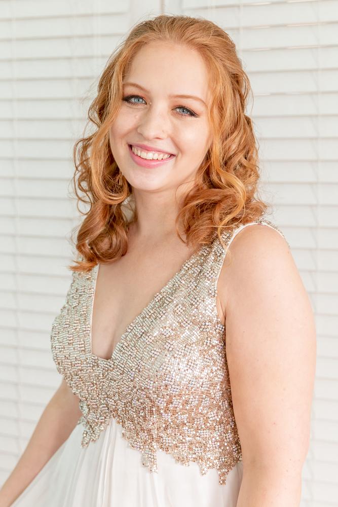 Gulfport Beach Wedding | Natural Light Bridal Portrait | Annie Elise Photography