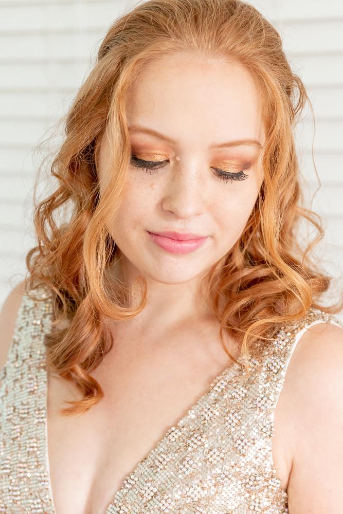 Gulfport Beach Wedding | Bridal makeup | Annie Elise Photography
