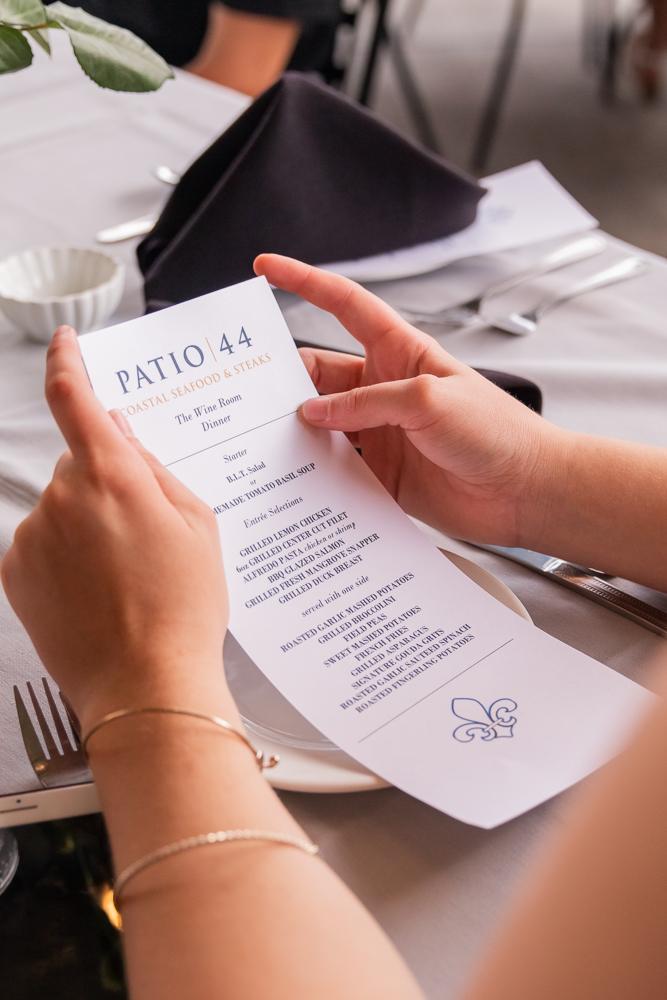Gulfport Beach Wedding | Annie Elise Photography | patio 44 menu