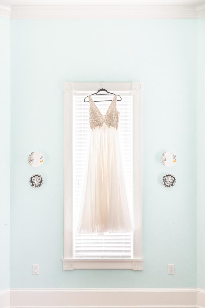 Gulfport, MS Beach Wedding | Wedding Dress | Annie Elise Photography