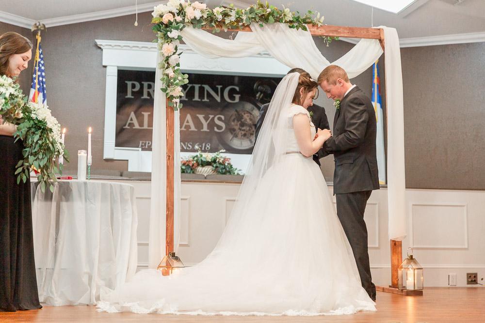Annie Elise Photography | long distance love | church wedding