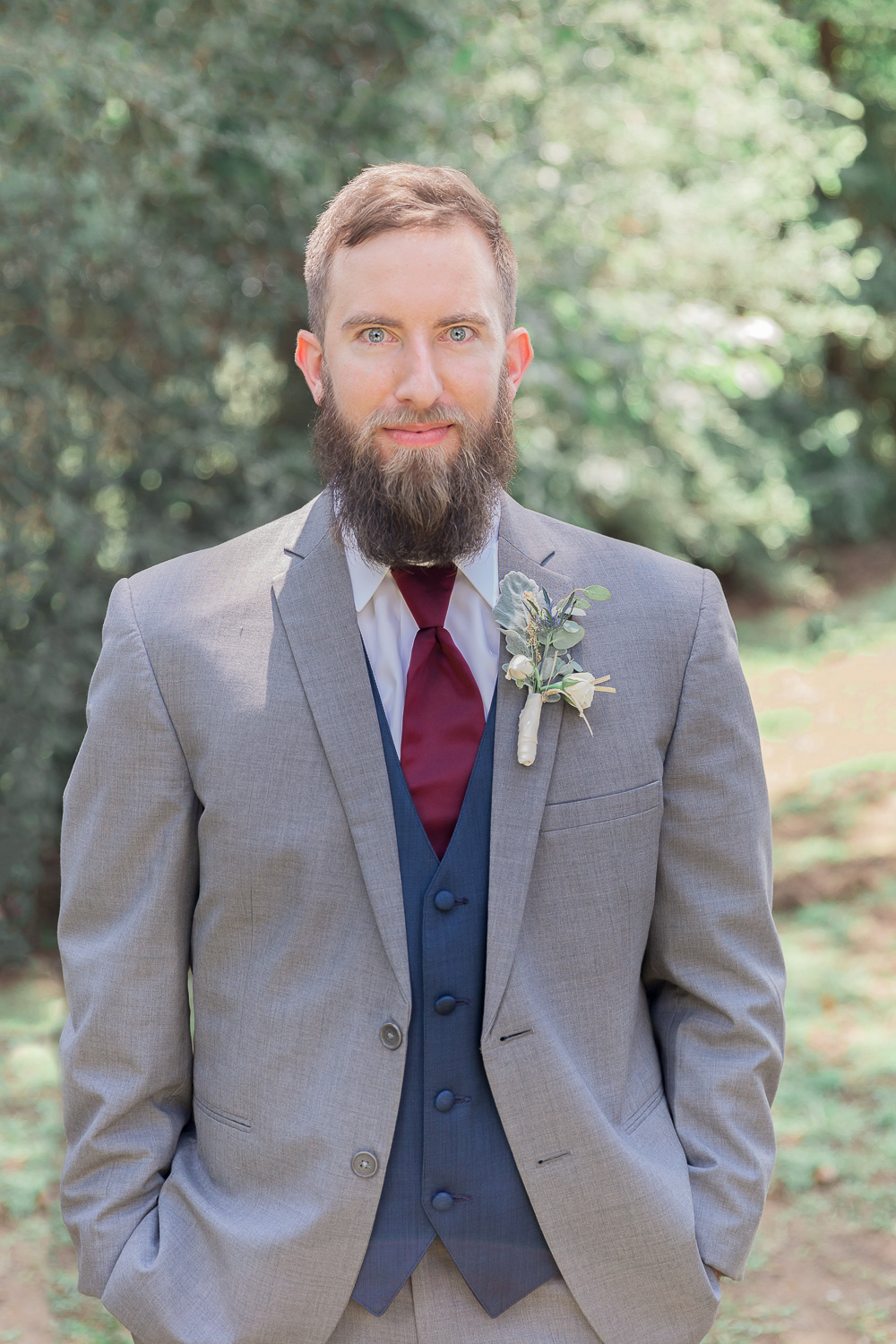 Annie Elise Photography | Groom Portrait Outdoors