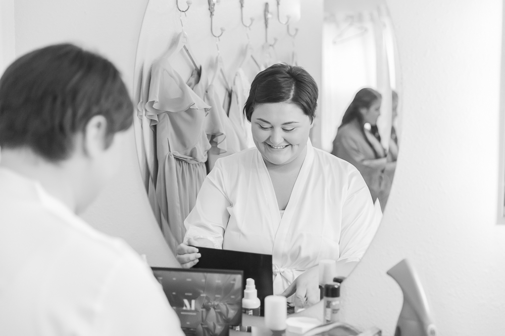 Annie Elise Photography | The Stables Venue | Vancleave, MS | Rustic Barn Wedding | bride getting ready