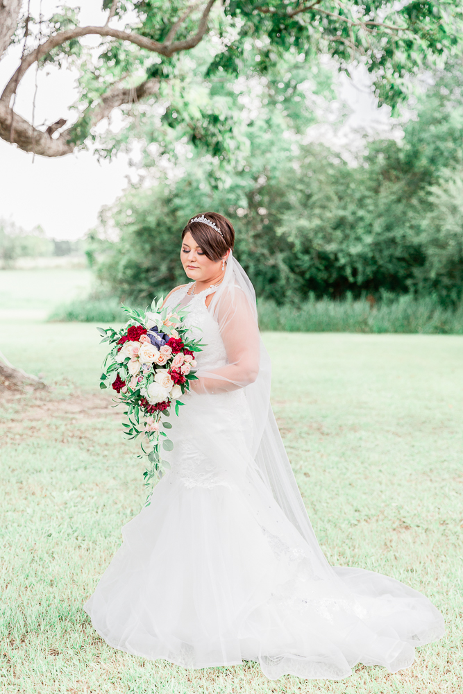 Annie Elise Photography | The Stables Venue | Vancleave, MS | Barn Wedding | Bridal portrait