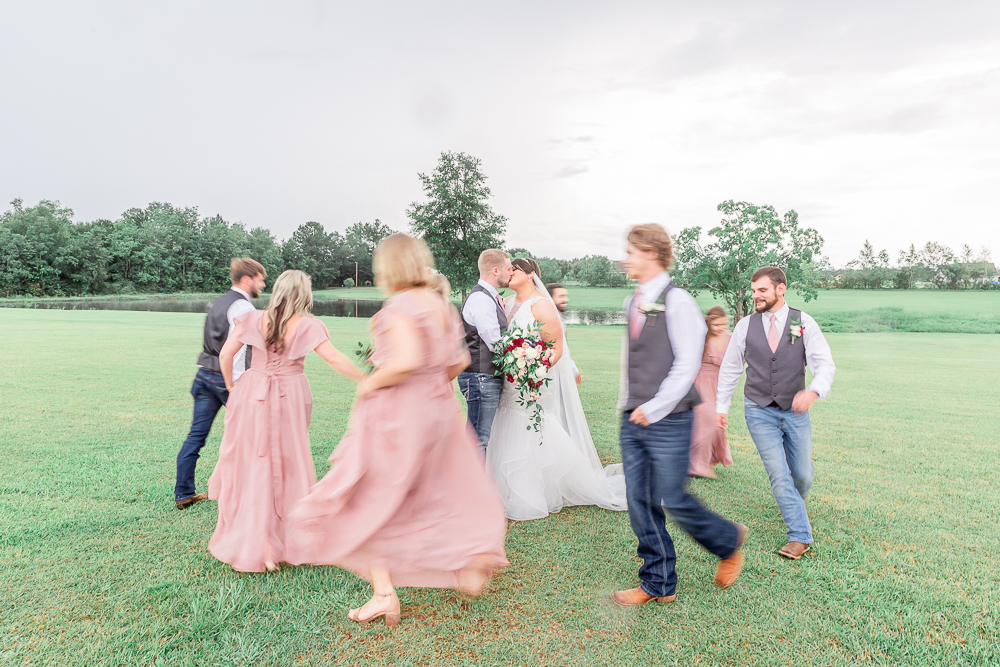 Annie Elise Photography | The Stables Venue | Vancleave, MS | Wedding Party | Dusty Rose Color
