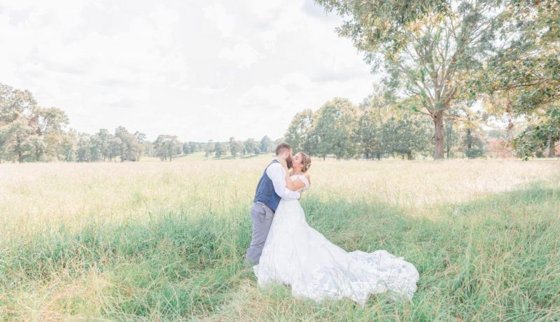 Joye + Jeremy | White Chapel Wedding | State Line, MS