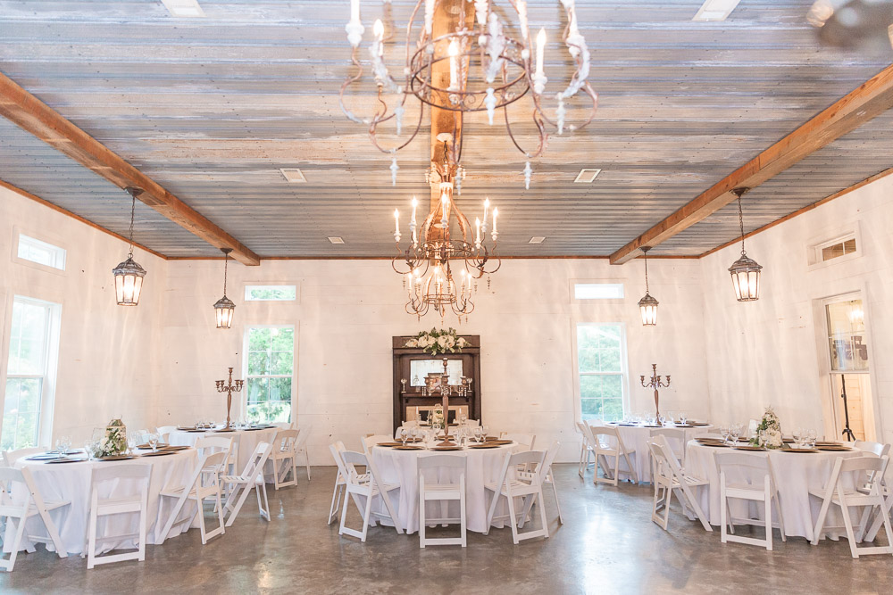 Erin + Jesse Venue at Roseoak, Petal MS-69